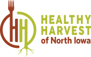 Healthy Harvest Logo Right Stacked color